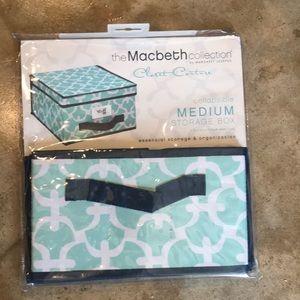 The Macbeth Collection Medium Storage Box NEW